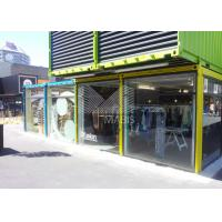 Customized Shipping Container Retail Store , Shipping Container Retail Shops Manufactures