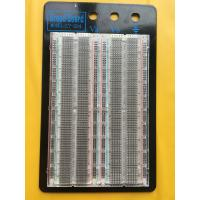 Testing Transparent Breadboard Prototype 1660 Point Solderless Bread Board Manufactures