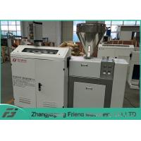 China Long Lifespan Plastic Extruder Machine / Single Screw Extruder 50kg/H Capacity on sale