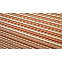 Flat Copper Round Rod Solid Brass Bars Construction Industry Corrosion Resistance Manufactures