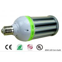 80W E40 Led Corn Light , 360 Degree Led Corn Bulb Aluminium Heatsink Double Pans Manufactures