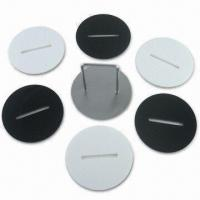 Acrylic Coaster, Measures 9.7cm, Comes in 6pcs, with Metal Holder Manufactures