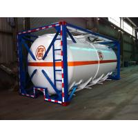 China Liquid Tank Container 48000L ISO International Shipping 40ft on sale