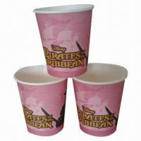 12oz/360mL Capacity Paper Cup for Hot Drinks, without Handle/Flexo Print/PS Lid /SGS Mark/In Stock Manufactures