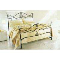 China Wrought iron bed on sale