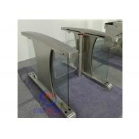 China China high speed lane gate rfid swing barrier Half Height Turnstiles for pedestrian input access on sale