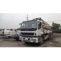 2008 year ISUZU 37m Used Concrete Pump Truck For Sale !!! Manufactures