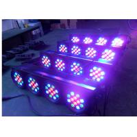 High Lumen DJ Stage Lights , Professional Stage Lighting 48pcs X 3W 144W Led Par Can  8CH Led Lights Manufactures