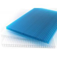 Cellular Multiwall Polycarbonate Sheet Four Layer 8 - 20mm Thickness For Roof Manufactures
