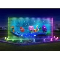 Lively Water Projection Screen Custom Size Water Screen Movie Cast Iron Water Pump Manufactures