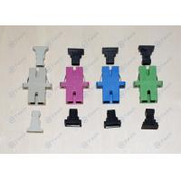 China ABS Material SC Simplex Adapter , Telecom Type Durable Fiber Cable Adapters on sale