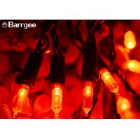 China Color Changing Outdoor Led Bulb String Lights, 50 LED Outdoor Led String Lights For Trees on sale