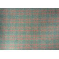 Customized Tartan Plaid Upholstery Fabric With AZO Certificate 720g/m Manufactures