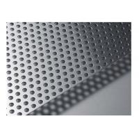 Professional Perforated Sieves Sheet / Perforated Metal Screen 1-20 Mm Hole Pitch Manufactures