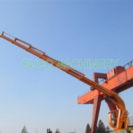 22m Steel Hydraulic 6T Folding Boom Long Boom Crane Manufactures
