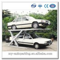 Scissor Car Parking Platforms Garage car stacking system Manufactures