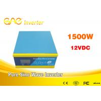 ONE 1200W 12V/24V To 220V DC To AC Single Phase Off Grid Pure Sine Wave Solar Inverter Manufactures