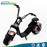 1200 W Electric Harley Scooters , Citycoco 2 Wheel Balance Scooter Battery Removable Manufactures