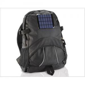 China Solar backpack, Solar bag, solar energy backpack on sale
