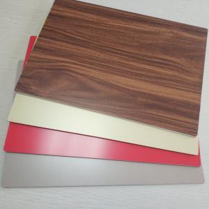 4mm ACP 3D Wood Grain Aluminum Composite Panel PE Coated Fluorocarbon Coatings