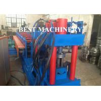 China Metal Building Palisade Fence Panel Post Roll Forming Machine Protective Guard on sale