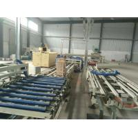 China Straw Color Wave Roof Tile Making Machine for Mgo / Mgcl / Fiber Glass Mesh Raw Material on sale