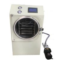China High Safety Kitchen Freeze Dryer , Freeze Dried Fruit Machine Built In Cold Trap on sale
