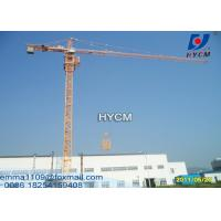 QTZ5513 Jib Tower Crane Quote 8TON Top Climbing Kind With Tower Head Manufactures