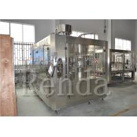 SUS304 Fully Automatic Filling Machine  15000BPH Beverage 3 In 1 Juice Filling Machine Manufactures