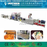 China Stone Artificial Marble Making Machine For Wall Decoration Sheet Profile on sale