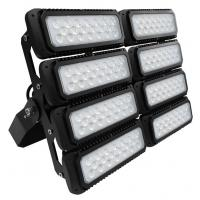 Buy cheap 600W 155lm/W Outdoor LED Flood Lights With 10 Years Warranty , Black Color Body , Professional Beam Angle from wholesalers