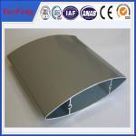 Aluminium louver profile supplier, extruded industrial aluminium profile supplier Manufactures