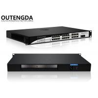 Optical Fiber Gigabit Poe Switch 24+2 Port 1000M Network Switch for All Brands Camera Manufactures
