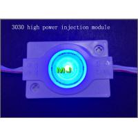 China SMD3030 square round module Super brightness CE ROHS DC12V led module light Blue color on sale