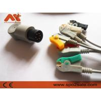 Buy cheap One piece 5-lead ECG Cable with grabber leadwires from wholesalers