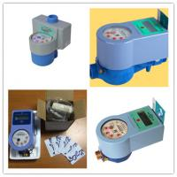 Smart IC Card Prepaid Water Meter Digital Remote Reading Anti Damage Manufactures