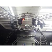 Bolt System Aluminum Lighting Circle Truss / LED Screen Truss Manufactures