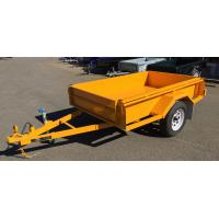 Painted 750KG Tandem Box Trailer , Heavy Duty  7 X 5 Box Trailer Manufactures