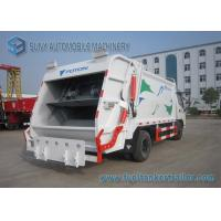 Buy cheap Foton Dual Axle 4X2 Comperssed Garbage Trucks 5m3-8m3 95 Km/h from wholesalers