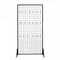 Multi - Functional Divider & Partition Commercial Wire Shelving , Metal Rolling Display Rack Manufactures
