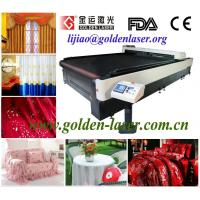China Tablecloth cutting laser machinery on sale
