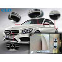 Wide Angle Dvr Car Parking Cameras System High Resolution Ccd Waterproof for Benz C Manufactures