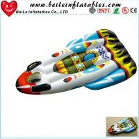 Quality Customized high quality Blue PVC inflatable water skiing circle for kids for sale