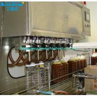 Automatic linear type olive oil filling packing machine for olive cooking sunflower oil in Manufactures