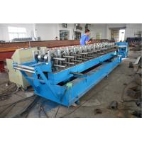 China Roller Material GCr15 Door Frame Roll Forming Machine with Hydraulic Cutting on sale