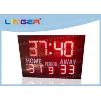 12'' and 16'' inch Digits in Red Color Led Electronic Horse polo Scoreboard for Customized Design Manufactures