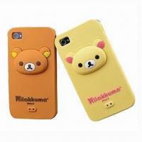 China Silicone Cases for Mobile Phone, Made of Durable Material on sale