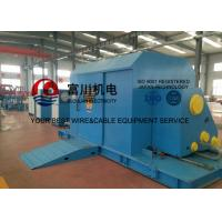 China Cantilever Core Wire / Cable Twisting Machine , Sky Blue Cable Laying Machinery on sale