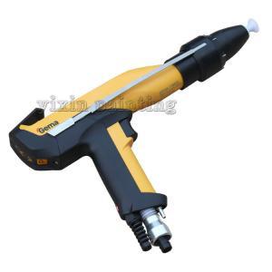 China Flexible Gema Manual Powder Gun , Small Portable Powder Coating Gun on sale