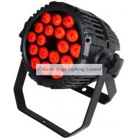 18x15W Outdoor RGBAW 5 in 1 Par LED Manufactures